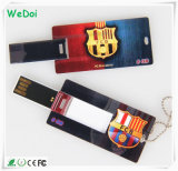 Mini Card USB Flash Drive with Full Color Printing Logo (WY-C09)