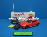 4 CH Bright Colour Remote Control Battery Car Toy (945603)