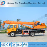 Hot Selling Construction Machine Lifting Equipment Pickup Mobile 8 Ton Truck Crane for Sale