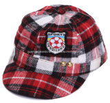 Colorful Custom Design Plaid Cotton Cycling Cap