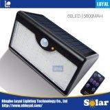 PIR Solar LED Outdoor Powered Emergency Motion Sensor Security Garden Flood Wall Light