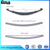 High Strength 50crva Steel Suspension Leaf Spring
