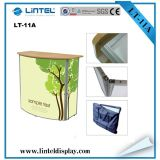 Supermarket Aluminum Advertising Pop up Counter Locked Promotion Table (LT-11A)