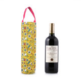 Personalized Round Bottle Wine Gift Cotton Bag (CWB-2012)