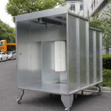Closed Powder Coating Spray Booth with Powder Recovery System