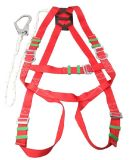 Safety Work Belt with Webbing or Rope Lanyard