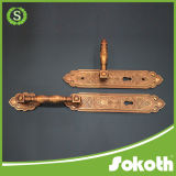 Hot Sale European Market Big Zinc Alloy Main Door Handle