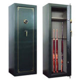 Cheap Digital Key Lock Gun Metal Safe Box