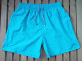Stock Nylon Taslon Quick Dry Turquoise Color Surf Shorts