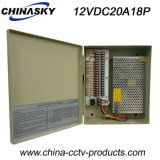 18CH-Output 20A Switching Power Supply Box for CCTV Camera (12VDC20A18P)