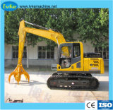High Quality Hot Sale Crawler Wheel Excavator Catching Wood Machine Model 95