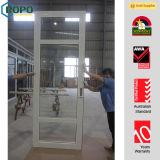 Exterior Open Casement Door, Favorable Price PVC Glass Doors