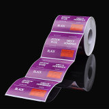Custom Printing Self-Adhesive Sticker Label Supermarket Rolls Printed Barcode