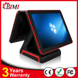 POS Terminal/System 15inch Flat Touch Screen (capacitive / resistive) Dual Display 0090