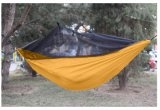Hot Sales Parachute Ripstop Nylon Camping Hammock with Bug Net