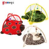 2018 New Cat Play Tent Ladybug Fleece Products Pet Toys
