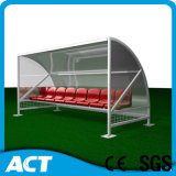 Freestanding Referee Bench - MVP Stadium Sports Shelter -; Portable Player Bench