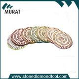 3/4/5/6 Inch Diamond Resin Abrasive Polishing Pads for Granite