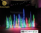Wedding Disco Stage Effect P12 3 X 4m LED RGB Video Curtain