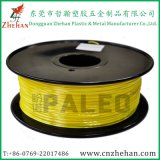 Yellow Color 3D Printer ABS/PLA/Polymer Composite Filaments