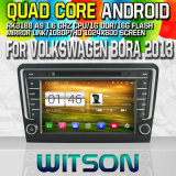 Witson S160 Car DVD GPS Player for Volkswagen Bora 2013 with Rk3188 Quad Core HD 1024X600 Screen 16GB Flash 1080P WiFi 3G Front DVR DVB-T Mirror-Link (W2-M244)