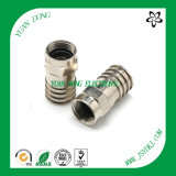 Water-Proof RG6 Cable Compression Connector RF Connector Manufacturer