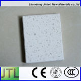 White Crystal Single Color Solid Surface Quartz Stone