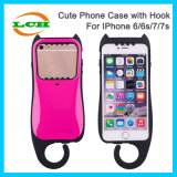 Shockproof Cute Wholecover Hook Mobile Phone Case for iPhone 7/6/6s