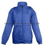 Fashion Design Polyester/PVC Outer Jacket