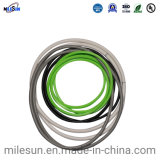 Milesun OEM ODM Silicone Extruded Rubber Sealing Strips Spare Part Rubber Products