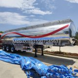 Truck Tank Trailer Factory Cheap 36 Cbm 3 Axles Aluminum Alloy Oil Fuel Tanker Semi Trailer
