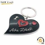 China Wholesale Metal Dubai Logo Key Chain for Promotional Gift