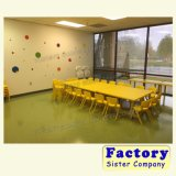 Beautiful Furniture Plastic Chairs and Table for Kindergarten