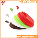 Hot Sales Food Grade Silicone Cup with Lid (XY-CL-180)