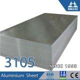 Corrugated 3105 H26 Aluminium Marine Plate for Windbreak Wide Curtain Wall Panel