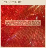 Red Shiny Hot Fix Crystal Mesh Sheet for Decoration
