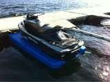 Foam Filled Motorboat Floating Dock / Used to Lift The Jet Ski
