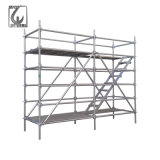 Construction Scaffolding HDG Steel Layher All Round Ringlock Scaffold