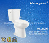 Bathroom Sanitary Wares Two Piece Water Closet (CL-045)