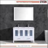 High Quality Ceramic Basin Bathroom Cabinet T9024-48W