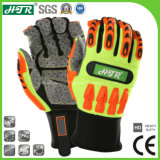 Anti-Slip Impact Resistant Mechanical Industrial Safety Work Gloves with Protective TPR