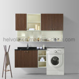 Sanitary Ware Wash Basin Bathroom Vanity Bathroom Solid Wood PVC MDF with Mirror Stainless Steel Furniture Bathroom Cabinet 1