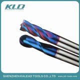 Dia12.0 CNC Cutting Tools High Hardness Millling Cutter HRC60 End Mill Tungsten Carbide Square End Mill with Ball End Mill for CNC Milling Machine