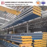 PU EPS Rock Wool Glaa Fiber Sandwich Panel Building Material