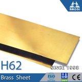 Cu76% Zn20% Ni4% Copper Brass Sheets H62 Brass Sheet Decoration