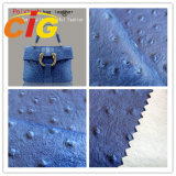Modern High Quality Popular Customized Bags Artificial Leather Material Ostrich Embossed