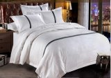 5-Star Luxury Jacquard Weave Embroidery Flat Sheet Hotel Bedding Sets