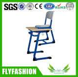 Modern Popular Single Wooden PE Table Classroom Furniture with Chair (SF-50S)