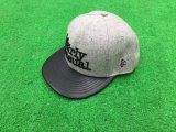 Healng 3D embroidery  Any Logo Custom Fashion Leather and Wool Snapback Caps