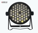 RGBW 54LEDs 1W LED Stage PAR Can Light
